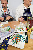 Art Group at the Westminster Mind drop-in centre, Harrow Road.