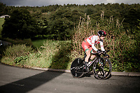 Vasil Kiryienka (BLR/Ineos)<br /> Elite Men Individual Time Trial<br /> from Northhallerton to Harrogate (54km)<br /> <br /> 2019 Road World Championships Yorkshire (GBR)<br /> <br /> ©kramon