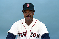 Boston Red Sox Jim Rice poses for a photo during spring training circa 1989 at Chain of Lakes Park in Winter Haven, Florida.  (MJA/Four Seam Images)
