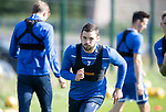 St Johnstone Training….13.09.19     McDiarmid Park, Perth<br />Drey Wright pictured during training this morning ahead of tomorrows game at Aberdeen<br />Picture by Graeme Hart.<br />Copyright Perthshire Picture Agency<br />Tel: 01738 623350  Mobile: 07990 594431