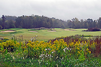 Autumn view of Rocky River Golf Course in Charlotte, North Carolina.  (Photo by Brian Cleary/www.bcpix.com)