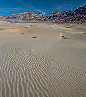 Ripples and waves are numerous at Eureka Dunes at Death Valley National Park, California
