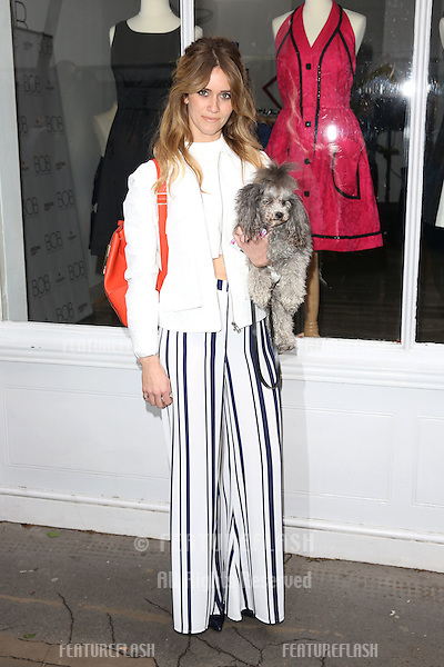 Jade Williams arriving for the BOB By Dawn O'Porter Pop Up Boutique - VIP Launch Party<br /> London, England. 06/05/2015 Picture by: James Smith / Featureflash