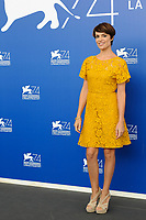 Italian actress Micaela Ramazzotti attends a photo call for the movie 'Una Famiglia' at the 74th Venice Film Festival, Venice Lido, September 4, 2017. <br /> UPDATE IMAGES PRESS/Marilla Sicilia<br /> <br /> *** ONLY FRANCE AND GERMANY SALES ***