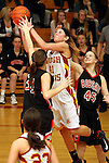 Brookings at Roosevelt Girls District 1AA Basketball