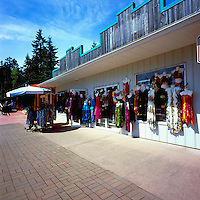 Coombs, BC, near Parksville, Vancouver Island, British Columbia, Canada - Women's Retail Clothing Boutique