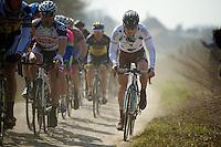 111th Paris-Roubaix 2013..Steve Chainel (FRA)