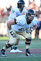 Idaho offensive lineman Mason Woods (67) during first half of an NCAA Football game, Saturday, October 04, 2014 in San Marcos, Tex. Texas State leads Idaho 21-3 at the halftime(Mo Khursheed/TFV Media via AP Images)