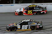 #88: Alex Bowman, Hendrick Motorsports, Chevrolet Camaro ChevyGoods.com/Adam's Polishes and #95: Christopher Bell, Leavine Family Racing, Toyota Camry Procore