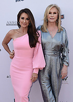 PASADENA, CA - JUNE 4:  Kyle Richards and Kathy Hilton at the 28th Annual Race to Erase MS Drive-In Gala at The Rose Bowl in Pasadena, Friday, June 4, 2021 (Photo by Scott Kirkland/PictureGroup)