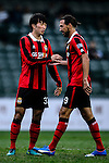 FC Seoul Forward Dejan Damjanovic (r) and FC Seoul Midfielder Yoon Seung Won (l) during the 2017 Lunar New Year Cup match between Auckland City FC (NZL) vs FC Seoul (KOR) on January 28, 2017 in Hong Kong, Hong Kong. Photo by Marcio Rodrigo Machado/Power Sport Images