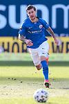 20.02.2021, xtgx, Fussball 3. Liga, FC Hansa Rostock - SV Waldhof Mannheim, v.l. Philip Tuerpitz (Rostock) Freisteller, Einzelbild, Ganzkoerper, single frame <br /> <br /> (DFL/DFB REGULATIONS PROHIBIT ANY USE OF PHOTOGRAPHS as IMAGE SEQUENCES and/or QUASI-VIDEO)<br /> <br /> Foto © PIX-Sportfotos *** Foto ist honorarpflichtig! *** Auf Anfrage in hoeherer Qualitaet/Aufloesung. Belegexemplar erbeten. Veroeffentlichung ausschliesslich fuer journalistisch-publizistische Zwecke. For editorial use only.