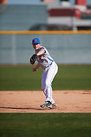 Michael Clements (6) of Bardstown High School in Bardstown, Kentucky during the Baseball Factory All-America Pre-Season Tournament, powered by Under Armour, on January 13, 2018 at Sloan Park Complex in Mesa, Arizona.  (Mike Janes/Four Seam Images)