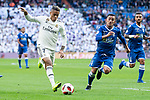Real Madrid Mariano Diaz during King's Cup match between Real Madrid and U.D. Melilla at Santiago Bernabeu Stadium in Madrid, Spain. December 06, 2018. (ALTERPHOTOS/Borja B.Hojas)