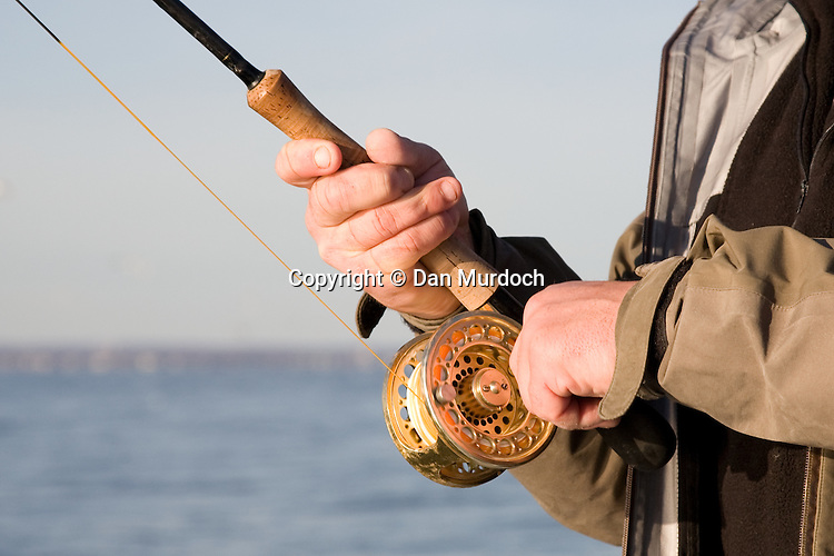 Flyfishing for stripers and blues on Long Island Sound