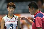 (L-R) Saori Kimura, Masayoshi Manabe (JPN), AUGUST 26, 2015 - Volleyball : FIVB Women's World Cup 2015 1st Round between Japan 3-0 Kenya  in Tokyo, Japan. (Photo by Sho Tamura/AFLO SPORT)