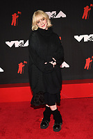 NEW YORK, NY- SEPTEMBER 12: Billie Eilish at the 2021 MTV Video Music Awards at Barclays Center on September 12, 2021 in Brooklyn,  New York City. <br /> CAP/MPI/JP<br /> ©JP/MPI/Capital Pictures