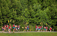 Summer campers  at the US National Whitewater Center (USNWC) in Charlotte, NC.