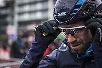 Alejandro Valverde (ESP/Team Movistar) pre race. <br /> <br /> 73th Dwars Door Vlaanderen (1.UWT)<br /> 1day race: Roeselare › Waregem BEL (180km)