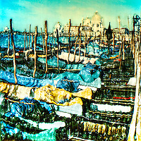 Boats cling to their moorings as they wait for their next adventure.<br />