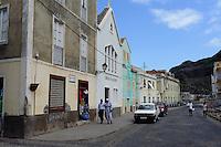 Häuser in Ribeira Grande, Santo Antao, Kapverden, Afrika, Unesco-Weltkulturerbe