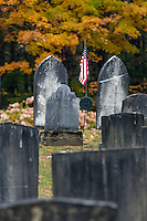 Old cemetery, Grafton, Vermont, USA