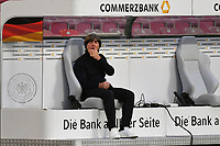 3rd September 2020; Stuttgart, Germany; UEFA Nations League football, Germany versus Spain; Coach Joachim Loew Germany alone on the substitutes bench