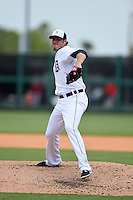 Detroit Tigers pitcher Joe Nathan (36) during a Spring Training game against the Washington Nationals on March 22, 2015 at Joker Marchant Stadium in Lakeland, Florida.  The game ended in a 7-7 tie.  (Mike Janes/Four Seam Images)