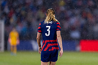EAST HARTFORD, CT - JULY 1: Samantha Mewis #3 of the USWNT walks on the field during a game between Mexico and USWNT at Rentschler Field on July 1, 2021 in East Hartford, Connecticut.