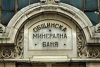 Bulgarien, Sofia, Mineralbad