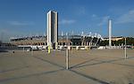 La piazza e lo stadio olimpico a Torino...The olympic square and the olympic stadium in Torino...June 2007...Ph. Marco Saroldi/Pho-to.it