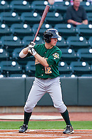 Todd Cunningham #12 of the Lynchburg Hillcats at bat against the Winston-Salem Dash at BB&T Ballpark on May 7, 2011 in Winston-Salem, North Carolina.   Photo by Brian Westerholt / Four Seam Images