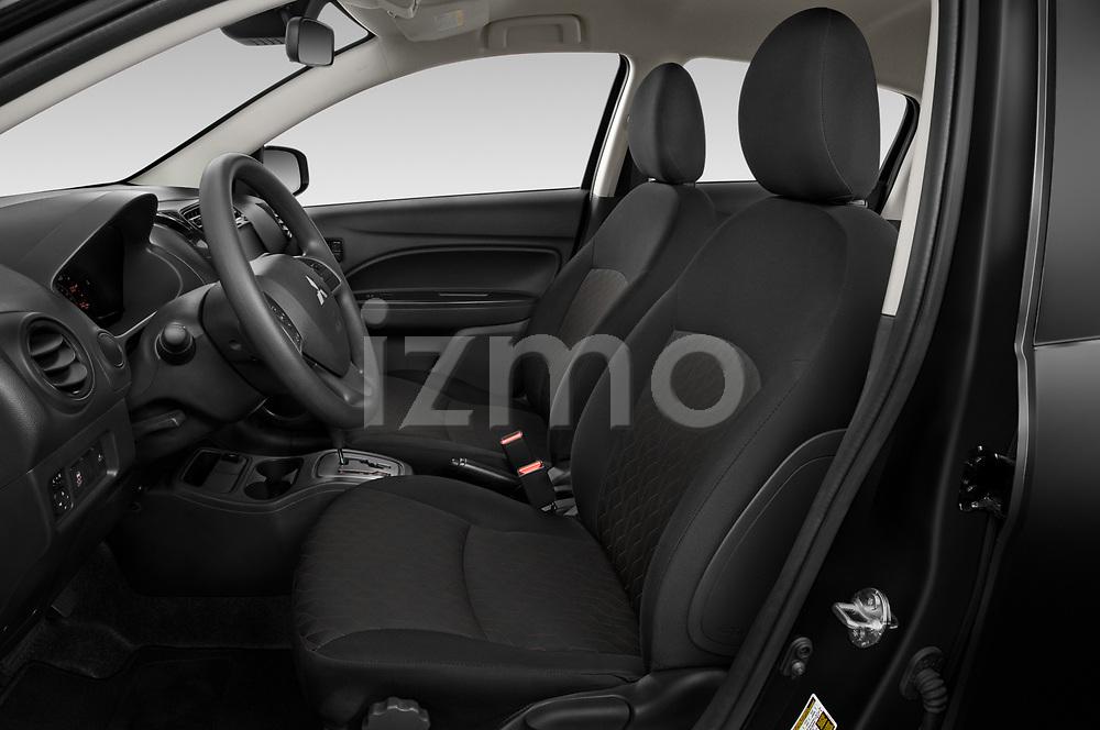 Front seat view of 2021 Mitsubishi Mirage ES 5 Door Hatchback Front Seat  car photos