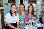 Enjoying the evening in Molly J's on Friday, l to r: Grace Kerins, Amy Noonan and Claire Riley (All Tralee).