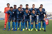 USMNT U-20 vs US Virgin Islands, November 3, 2018