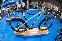VALENCIA, SPAIN - NOVEMBER 7: Orbea bike during DOS RODES at Feria Valencia on November 7, 2015 in Valencia, Spain