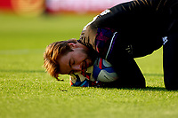 7th November 2020; Carrow Road, Norwich, Norfolk, England, English Football League Championship Football, Norwich versus Swansea City; Tim Krul during the warm up