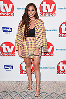 Courtney Green<br /> at the TV Choice Awards 2018, Dorchester Hotel, London<br /> <br /> ©Ash Knotek  D3428  10/09/2018