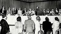 Royal Tours - Queen Mother Elizabeth (Canada 1974) Toronto (Dinner; Inn on the Park)<br /> <br /> Photo : Boris Spremo - Toronto Star archives - AQP
