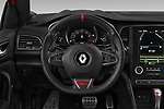 Car pictures of steering wheel view of a 2018 Renault Megane R.S. base 5 Door Hatchback