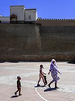 Festung Ark in Buchara, Usbekistan, Asien, UNESCO-Weltkulturerbe<br /> Fortress Ark, Historic City of Bukhara, Uzbekistan, Asia, UNESCO Heritage Site
