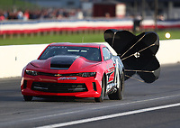 Aug 31, 2019; Clermont, IN, USA; NHRA factory stock driver Arthur Kohn during qualifying for the US Nationals at Lucas Oil Raceway. Mandatory Credit: Mark J. Rebilas-USA TODAY Sports