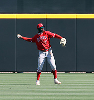 D'Shawn Knowles - Los Angeles Angels 2021 spring training (Bill Mitchell)
