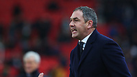 STOKE, ENGLAND - DECEMBER 2: Swansea City manager Paul Clement during the Premier League match between Stoke City and Swansea City at the bet365 Stadium on December 2, 2017 in Stoke, England. (Photo by Athena Pictures/Getty Images)