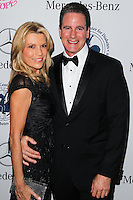BEVERLY HILLS, CA, USA - OCTOBER 11: Vanna White, George Santo Pietro arrive at the 2014 Carousel Of Hope Ball held at the Beverly Hilton Hotel on October 11, 2014 in Beverly Hills, California, United States. (Photo by Celebrity Monitor)