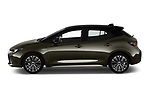 Car driver side profile view of a 2019 Toyota Corolla Style 5 Door Hatchback