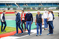 15th July 2021, Silverstone Circuit, Northampton, England; FIA Official track walk during the Formula 1 Pirelli British Grand Prix 2021, 10th round of the 2021 FIA Formula One World Championship