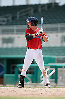 GCL Red Sox center fielder Caleb Ramsey (39) at bat during a game against the GCL Orioles on August 9, 2018 at JetBlue Park in Fort Myers, Florida.  GCL Red Sox defeated GCL Orioles 10-4.  (Mike Janes/Four Seam Images)