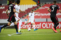 GUADALAJARA, MEXICO - MARCH 24: Djordje Mihailovic #8 of the United States during a game between Mexico and USMNT U-23 at Estadio Jalisco on March 24, 2021 in Guadalajara, Mexico.