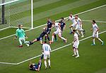 14.06.2021 Scotland v Czech Republic:  Lyndon Dykes fails to score